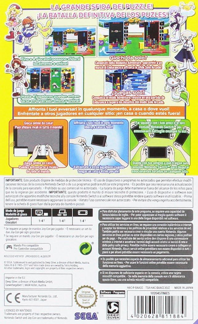 Puyo Puyo Tetris: Amazon.es: Videojuegos
