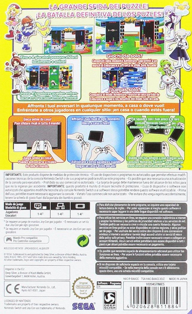 Puyo Puyo Tetris: nintendo switch: Amazon.es: Videojuegos