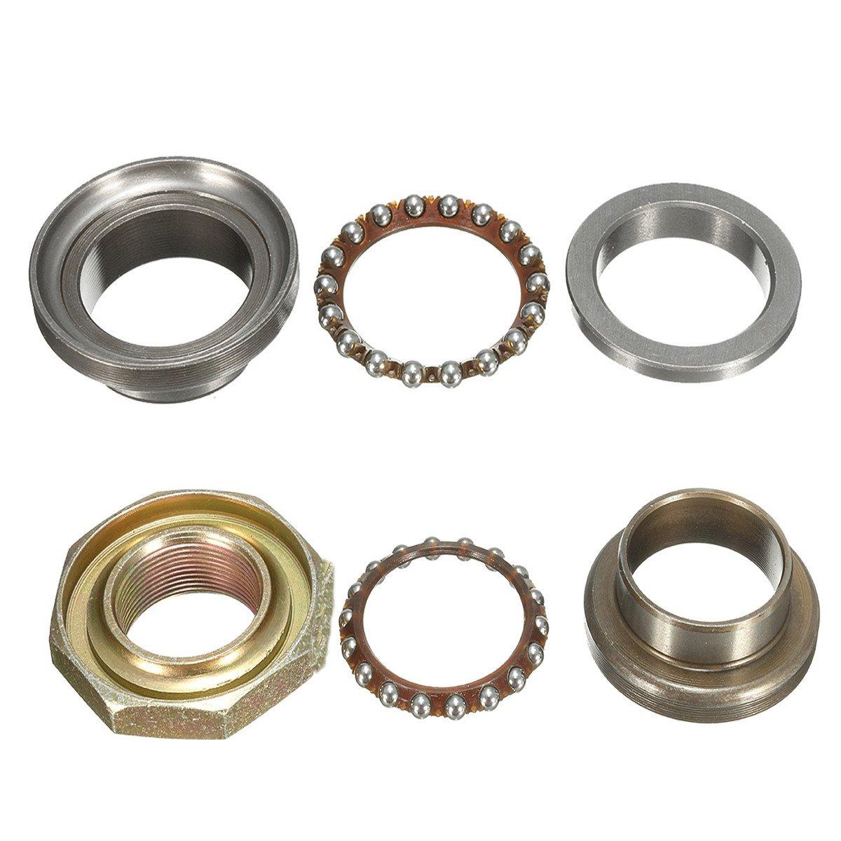 Kungfu Mall Steel Ring Bearings Head Set Race For Yamaha PW50 1981-2013