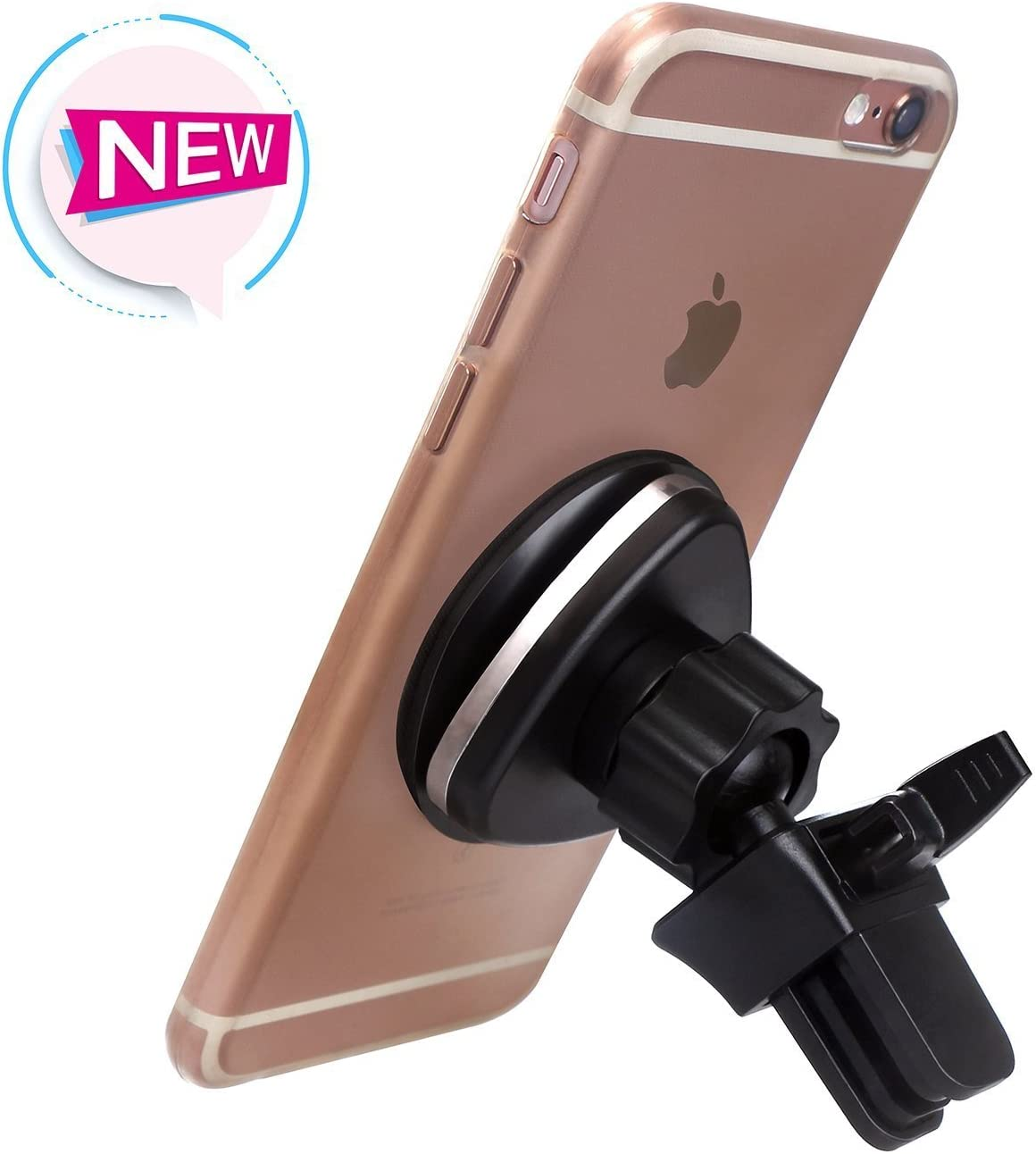 Samsung Galaxy S9// S8// S7// S6 Quntis Magnetic Phone Car Mount Holder for iPhone X// 8//7// 6s// 6 Plus,iPhone 5s// 5c// 5 Note 8 Pixel 2 XL and GPS Devices LG HTC Magnetic Car Mount