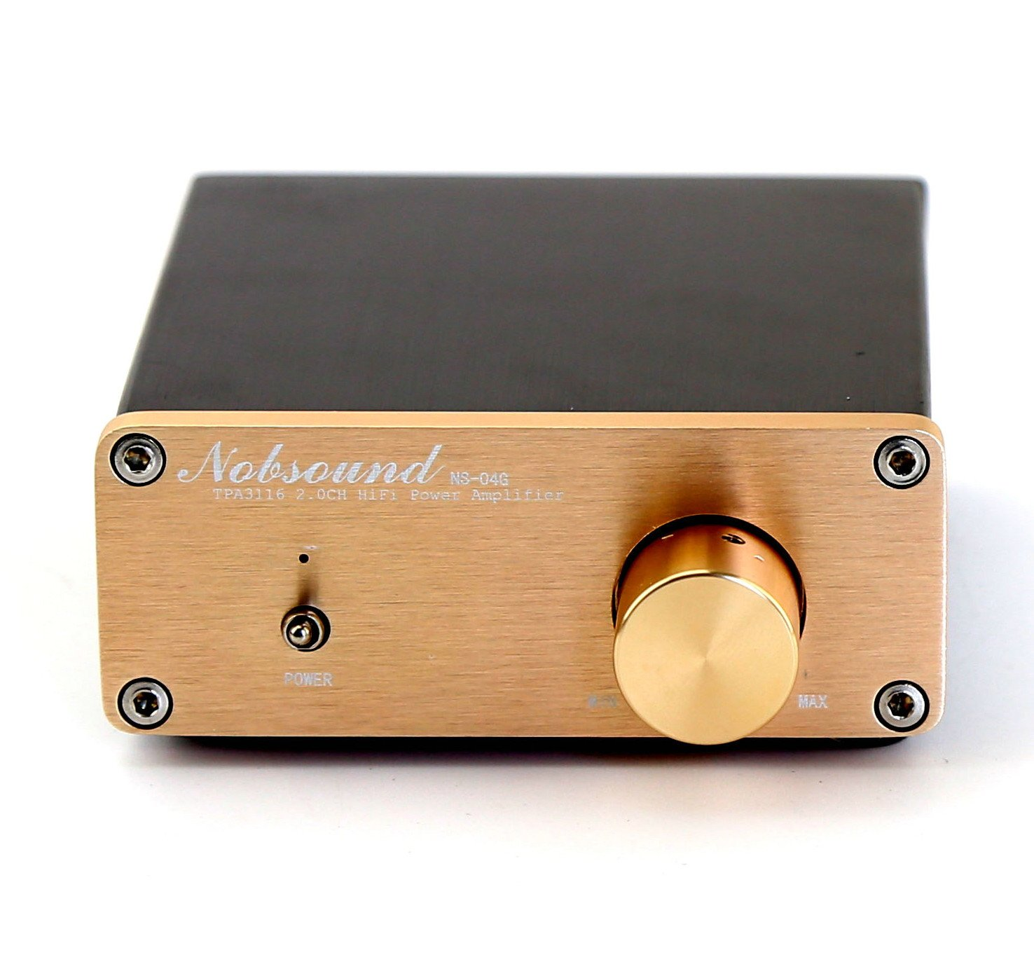Amazon.com: Nobsound® HiFi TPA3116 2.0CH Stereo Digital Amplifier Integrated amp+Power Supply: Home Audio & Theater
