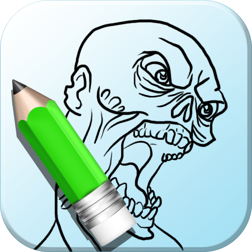 How To Draw Zombie Free (Zombie Cartoon Characters)