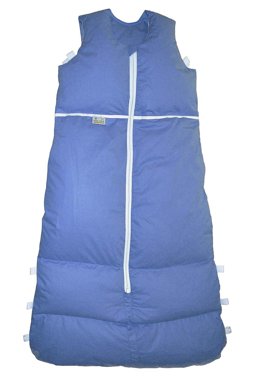 ARO Artländer 87548 Cosysan Hohlfaser-Schlafsack, 130 - 110 cm, dunkelblau