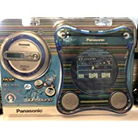 Panasonic Portible Cd Player & Splash Proof Case with Speakers