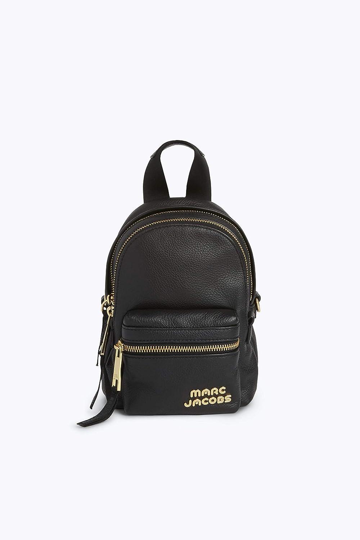 (マークジェイコブス) MARC JACOBS レディースバッグ リュック トレックパックレザーミニバックパック (並行輸入品) One Size ブラック B07HLXCZB8