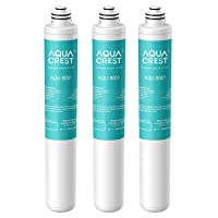 AQUACREST 9001 Under Sink Water Filter, Replacement for Moen 9001 PureTouch, AquaSuite Microtech 9000. Pack of 3
