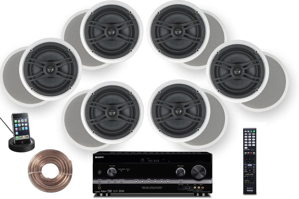 High Definition Digital Cinematic Sound 770 Watts 7.1 System by Yamaha