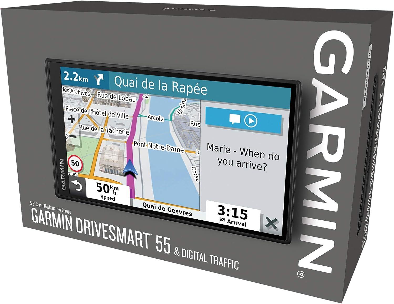 Garmin DriveSmart 55 Full EU MT-D GPS Reconditionn/é