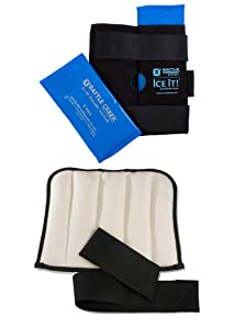 Battle Creek Ice It! Knee Pain Kit - with Moist Heat and Cold Therapy