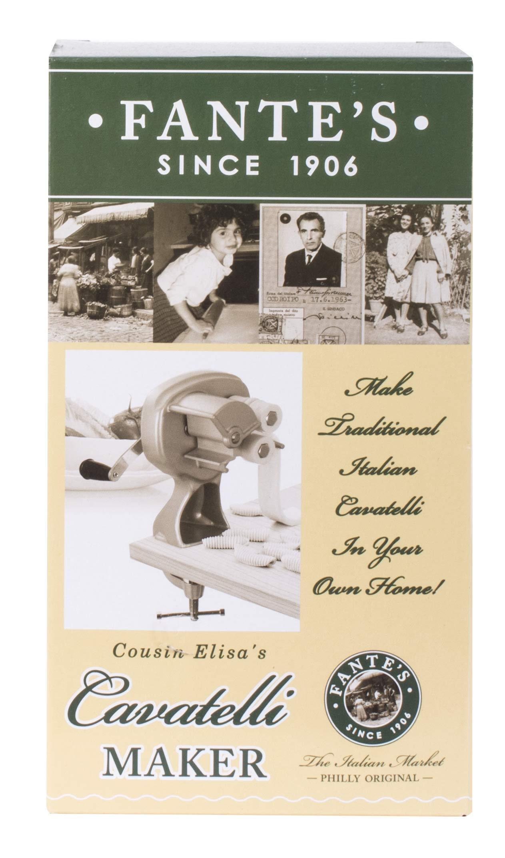 Fantes Cavatelli Maker Machine for Authentic Italian Pasta, The Italian Market Original since 1906 by Fante's