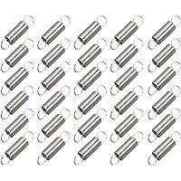 100 X 12.4 x 2.2 mm Expansion Extension Tension Springs À faire soi-même Metal Die Machanic