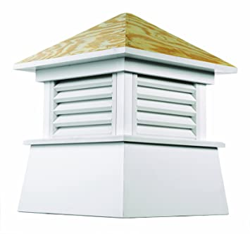 Amazoncom Good Directions Kent Vinyl Cupola With Wood Roof 18 X