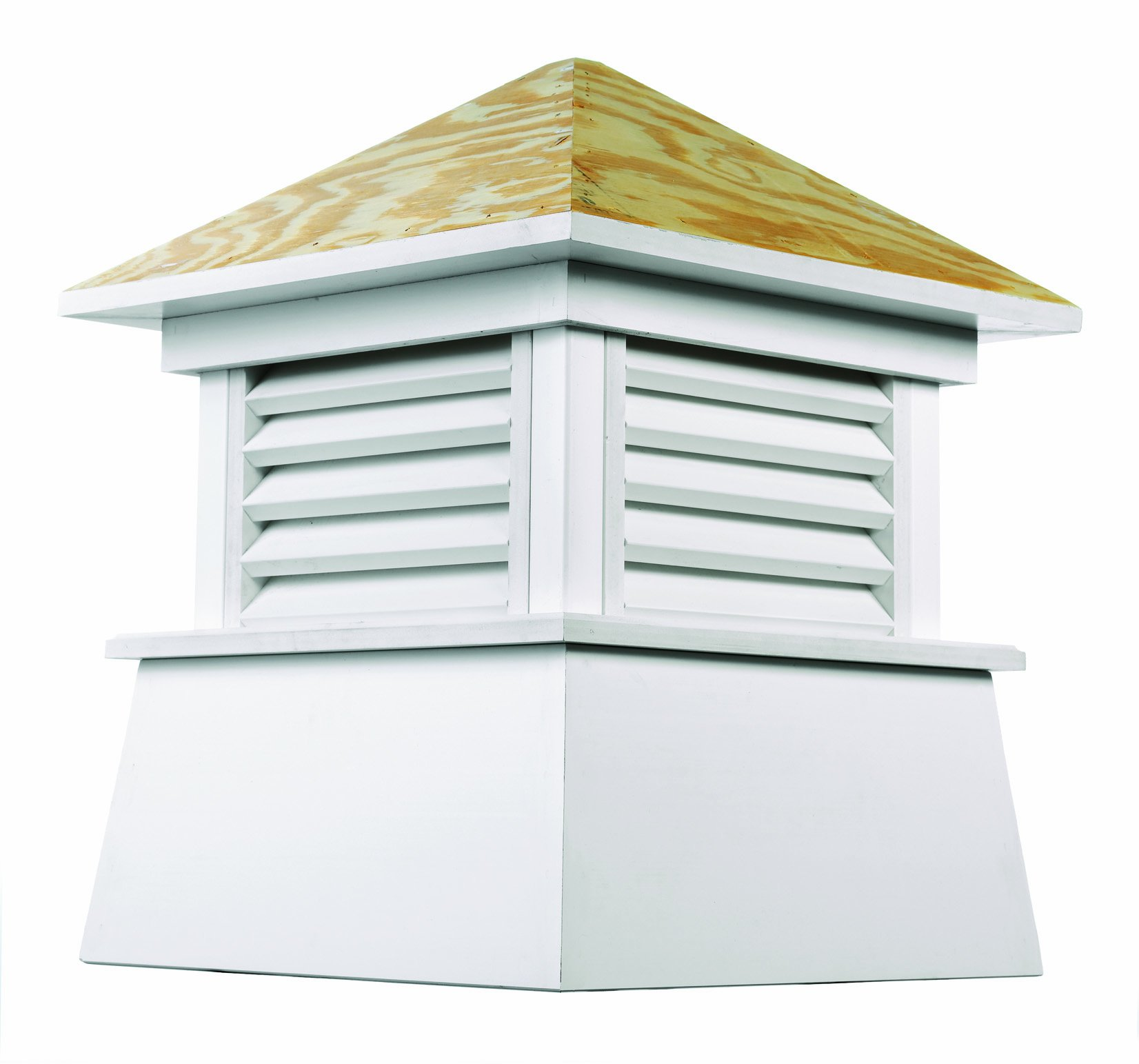 Good Directions Kent Vinyl Cupola with Wood Roof 18'' x 22'' by Good Directions