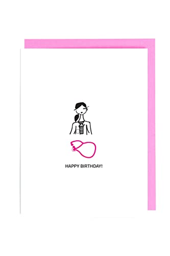 Medical Doctor Nursing Student Nurse Birthday Greeting Card Gifts