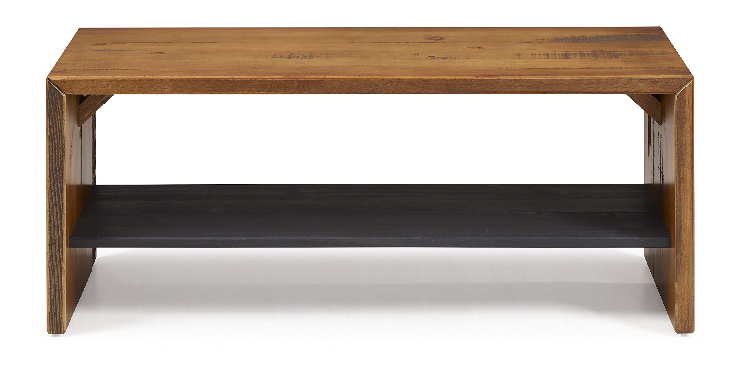 WE Furniture Reclaimed Wood Entry Bench in Amber - 42'' by WE Furniture (Image #3)