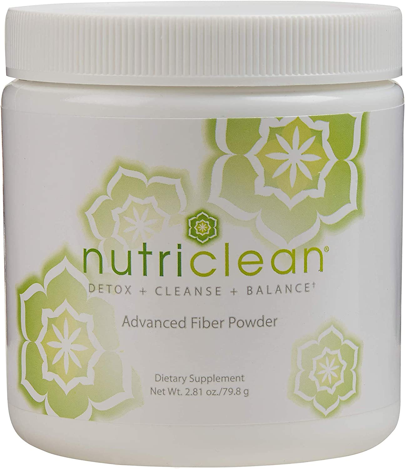 NutriClean 7 Day Cleansing System with Stevia | Detox | Cleanse | Advanced Fiber Powder | Maintain Digestive Health | Helps Cleanse the Colon | Promotes Liver Health & Healthy Digestive Tract | Market America (7 Servings)