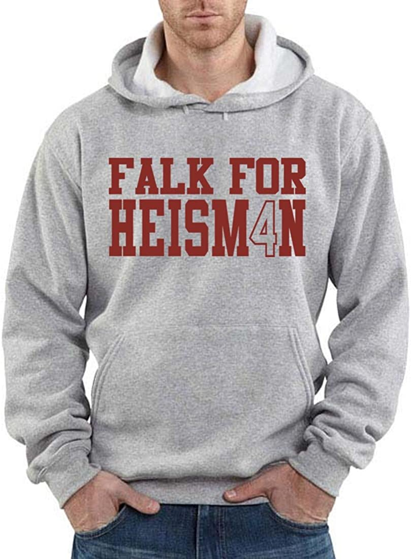 The Silo Gray Washington State Falk Heisman Hooded Sweatshirt