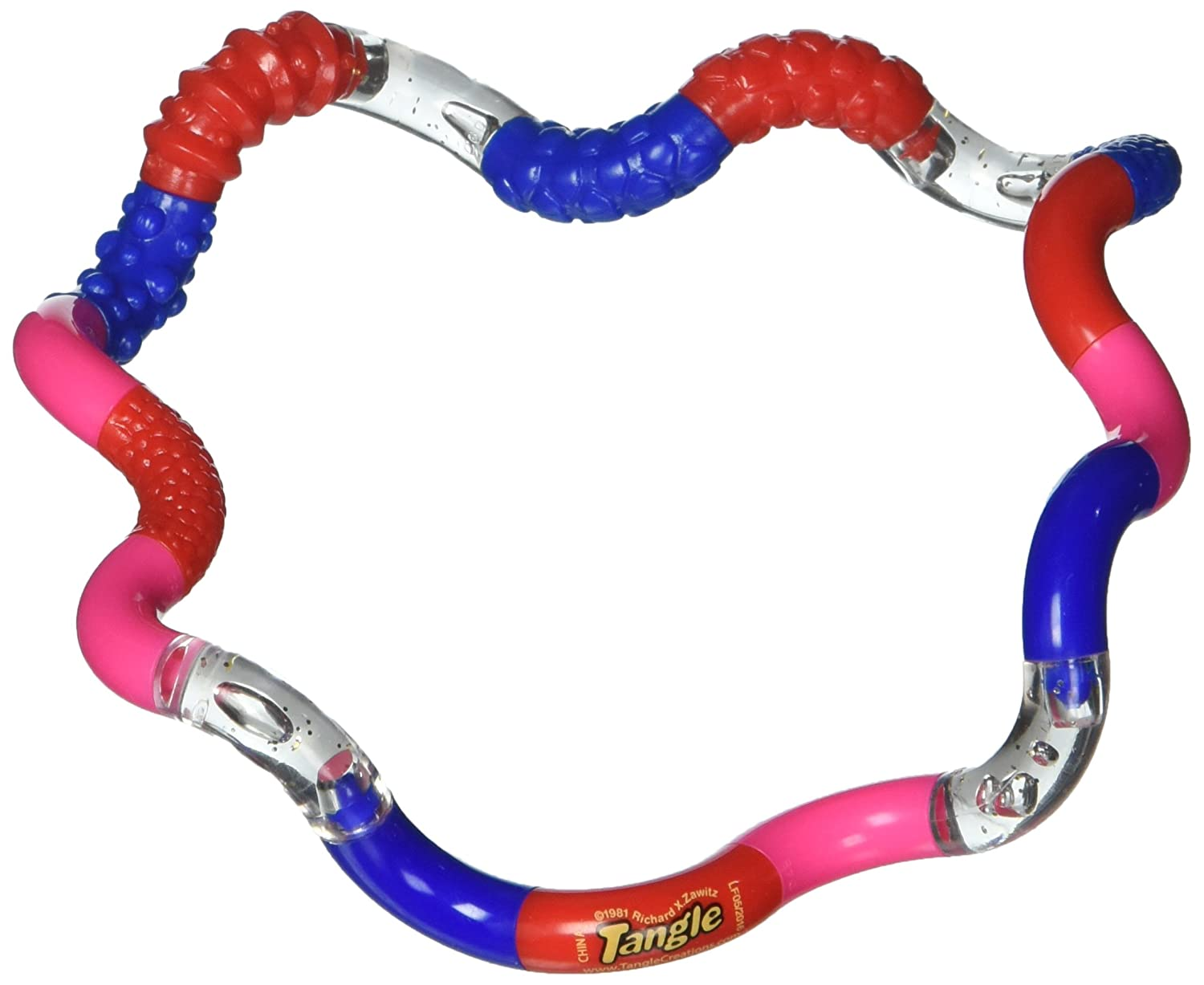 Tangle Jr Textured Sensory Fidget Toy Color May Very