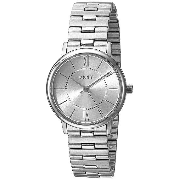 DKNY Reloj Analogico para Mujer de Cuarzo con Correa en Acero Inoxidable NY2547: Amazon.es: Relojes