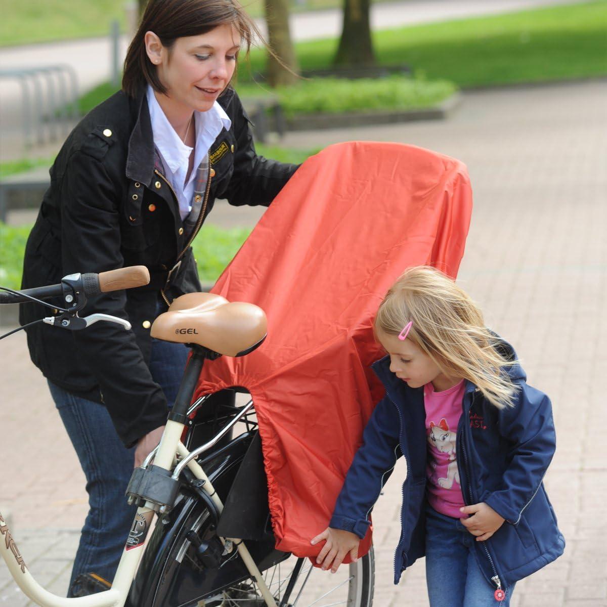 Regenschutz f/ür Fahrrad-Kindersitze TROCKOLINO sicuro Basic