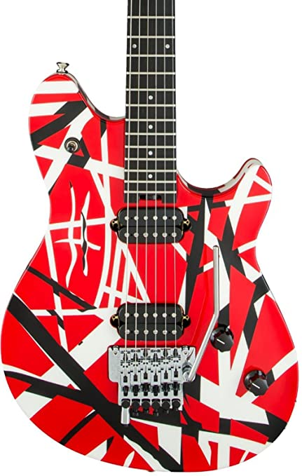 c58dc687eb4 Amazon.com  EVH Wolfgang Special - Striped  Musical Instruments