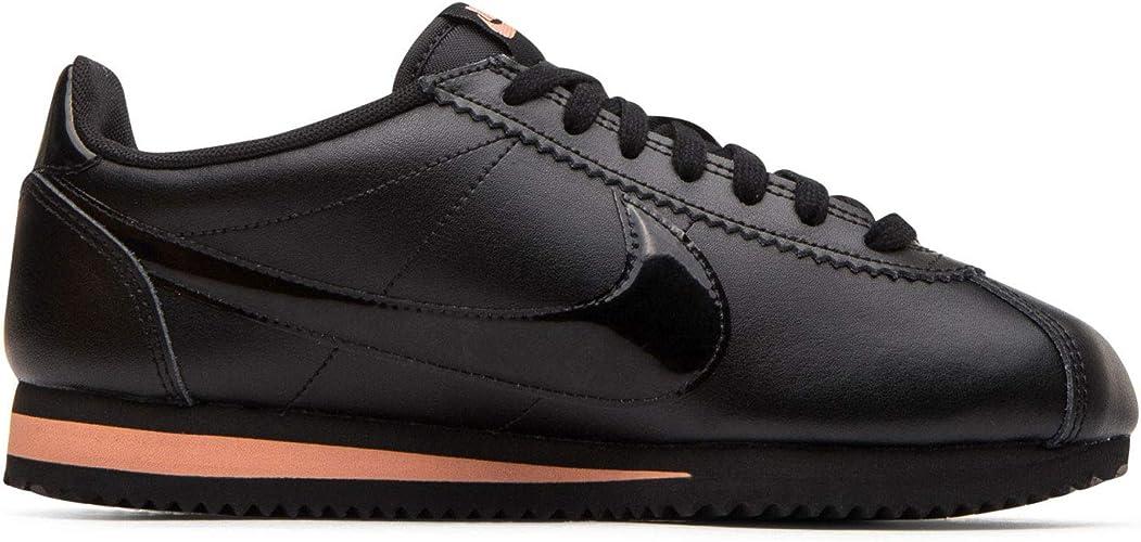 Nike Classic Cortez Premium 905614-010 - Zapatillas para Mujer, Color  Negro, Rosa y Dorado