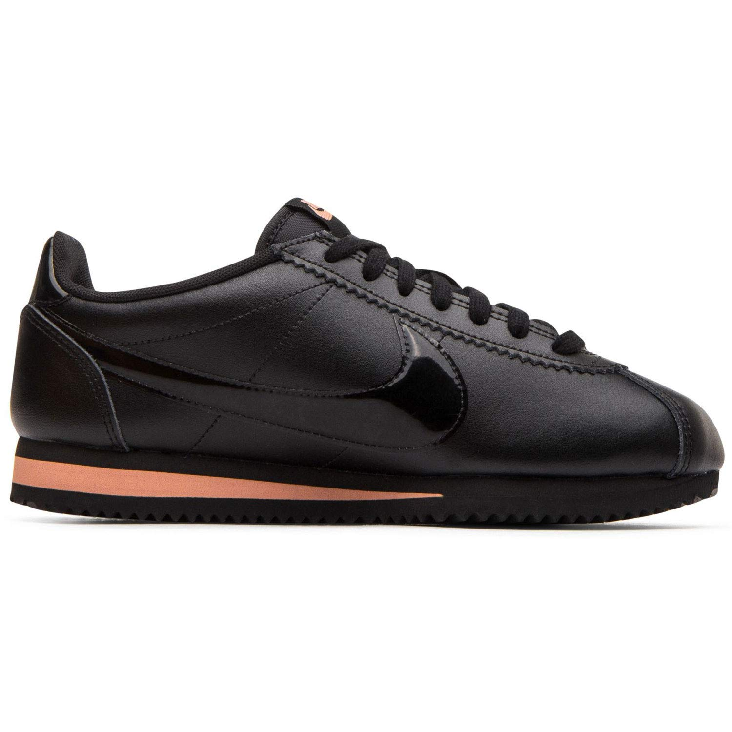 new products 39f4c c8c0e Amazon.com | Nike Women's Classic Cortez Premium Black/Rose Gold/Black  905614-010 | Fashion Sneakers