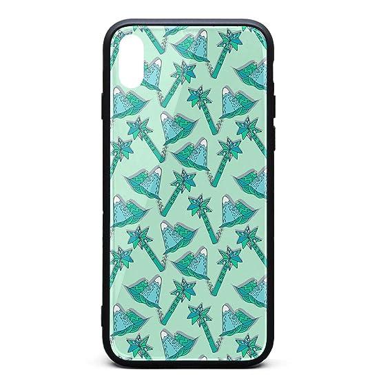 size 40 7b5ca 7330b Amazon.com: iPhone Xs Case/iPhone X Case Beautiful Simple Palm Tree ...