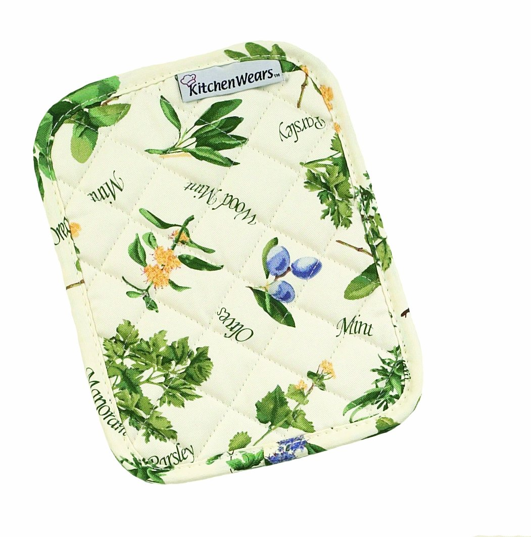 Ritz 33530 Kitchen Wears Print Pot Holder, Barnyard Rooster