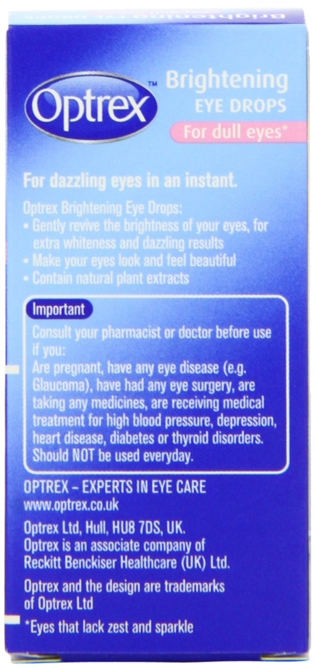 Amazon.com : Optrex Brightening Drops : Eye Drops : Beauty