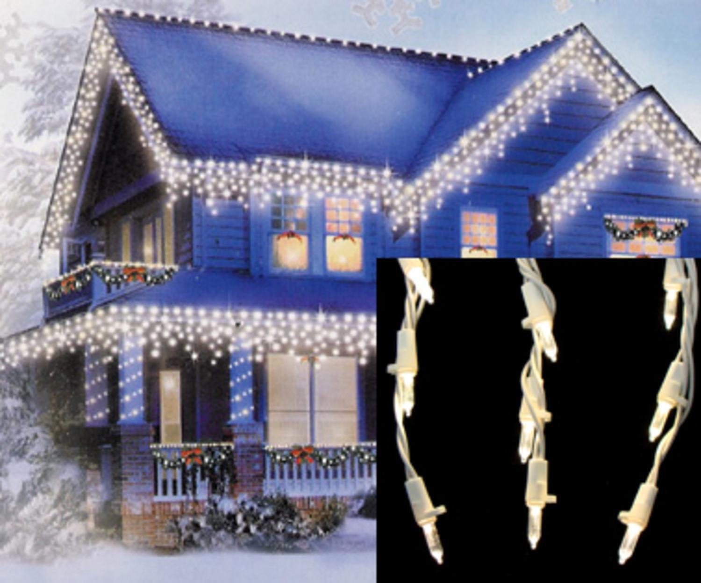 Northlight warm led cascading mini icicle christmas lights with northlight warm led cascading mini icicle christmas lights with white wire set of 105 amazon home kitchen aloadofball Image collections