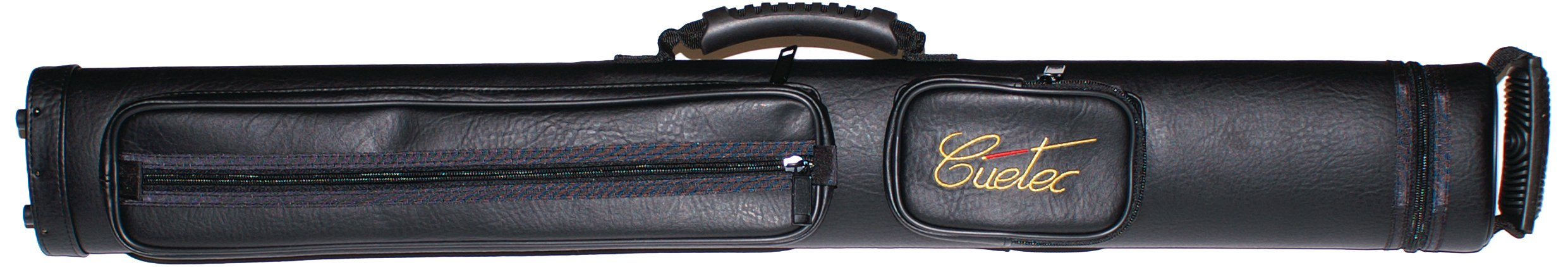 Cuetec Q-Safe Deluxe Billiard/Pool Cue Hard Carrying Case, Holds 2 Complete 2-Piece Cues (2 Butt/2 Shaft)