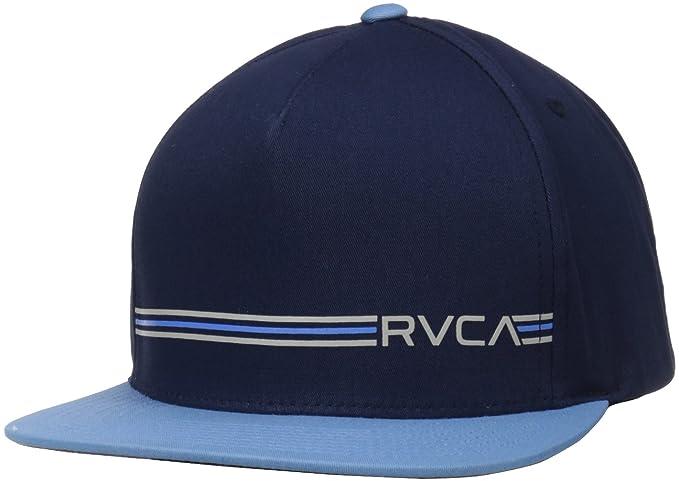 Amazon.com  RVCA Men s Crusher Twill Snapback Hat b2f68efb74d8