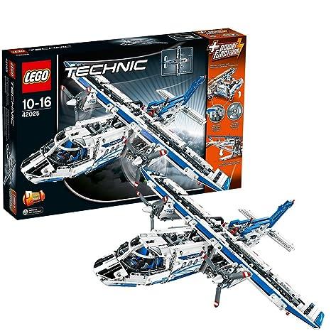 Lego Technic Cargo Plane Building Set Amazoncouk Toys Games