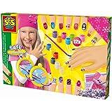 SES Creative - Decora tus uñas, set de juego , multicolor (14975)