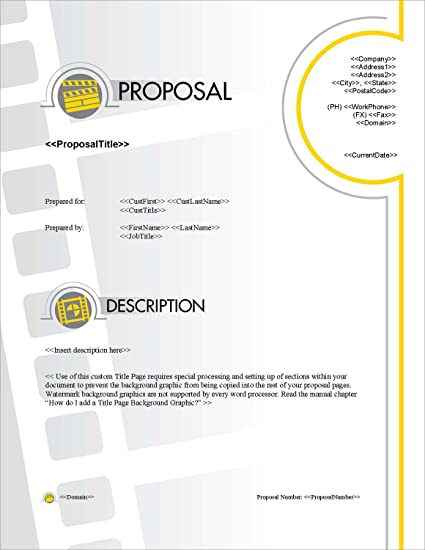 Amazon Proposal Pack Entertainment 5