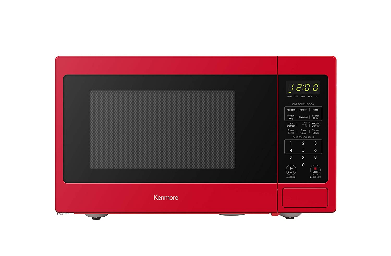 Amazon.com: Kenmore 70929 0.9 cu. ft Countertop Microwave ...
