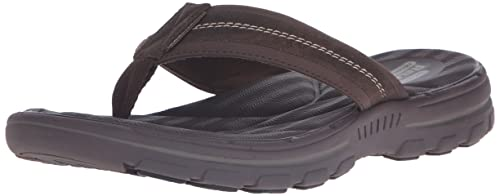 37cfe9bc30253 Skechers USA Men's Bravelen Seleno Flip Flop