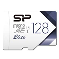 Silicon Power-128GB High Speed MicroSD Card with Adapter