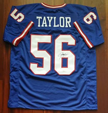 7ec32494197 Image Unavailable. Image not available for. Color  Lawrence Taylor  Autographed Signed Jersey ...