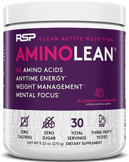 Formulas de los 20 primeros amino acidos para adelgazar