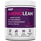 RSP Nutrition RSP AminoLean - All-in-One Pre Workout, Amino Energy, Weight Management Supplement with Amino Acids…