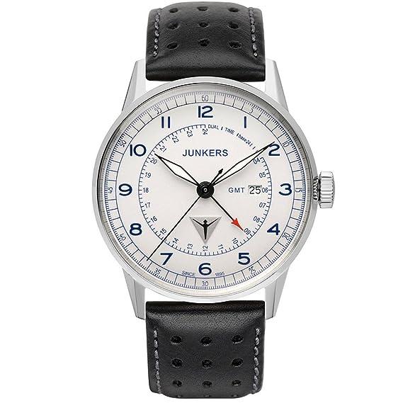 Junkers Reloj de Pulsera analógico Cuarzo Piel 6946 – 3