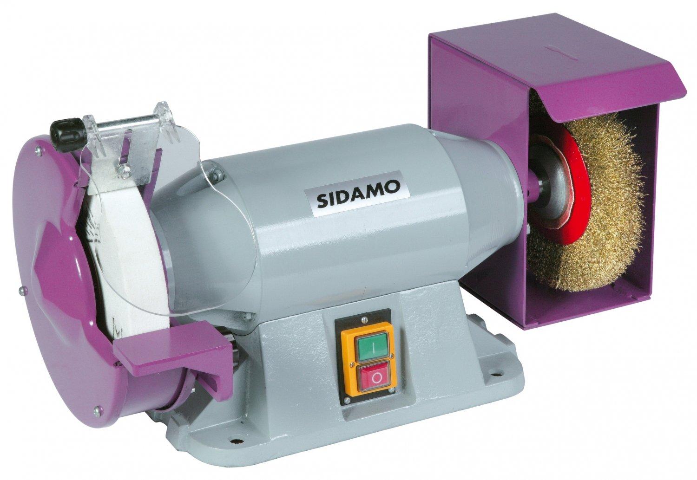 Trommel mit Schleifstein/Bürste 3- phasig 400 V TM200BT SIDAMO Pro