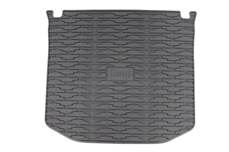 Mopar Genuine Jeep Accessories 82212085 Molded Cargo Tray, Dark Gray