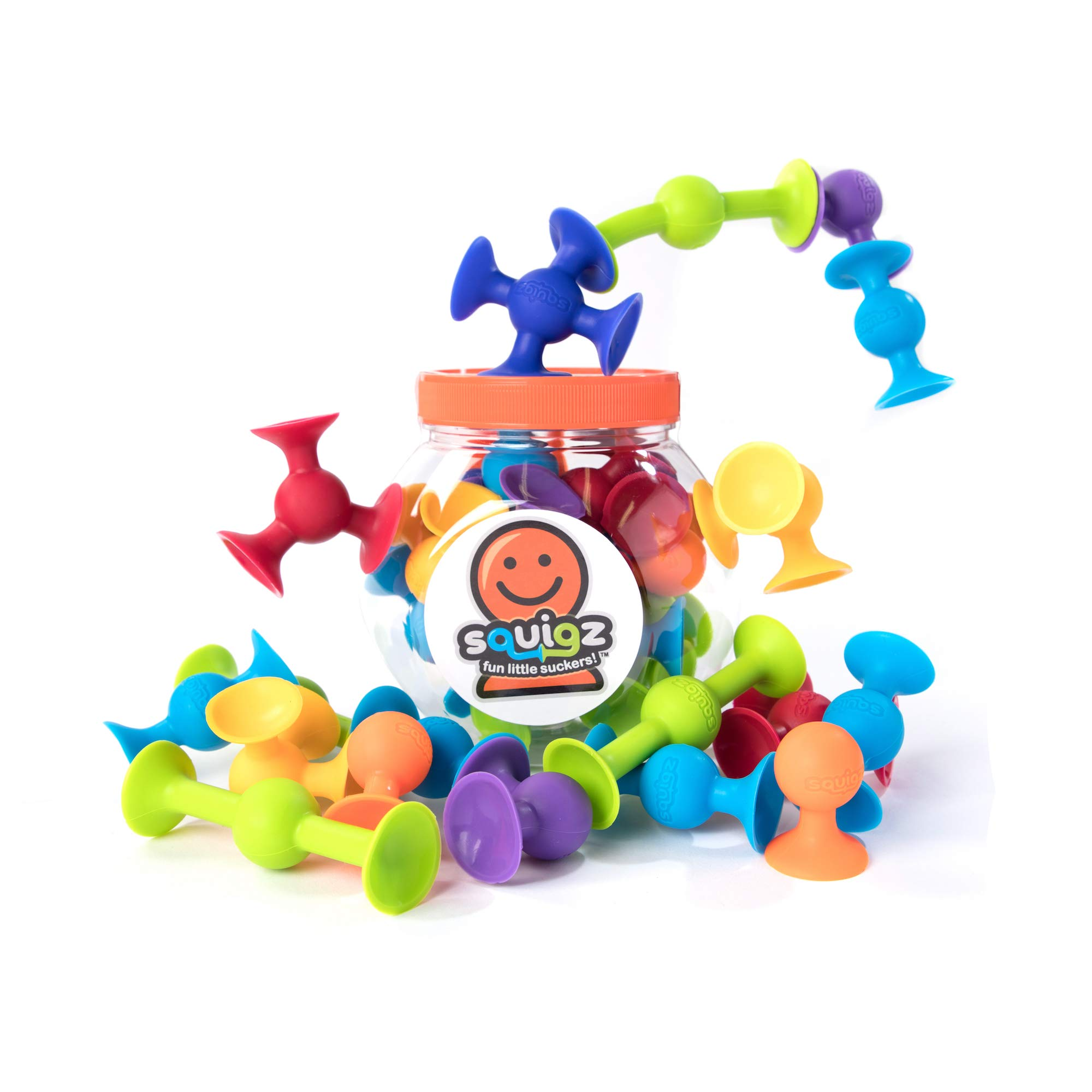 Fat Brain Toys Squigz Limited Edition 18 Piece Set