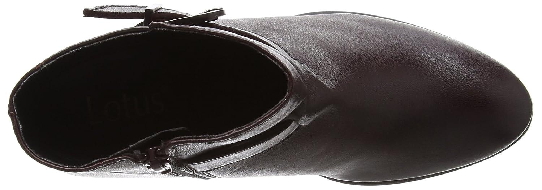 Lotus Damen Genevieve Rot Stiefel, Navy Rot Genevieve (Bordo Leder Brd Lth) e6b308
