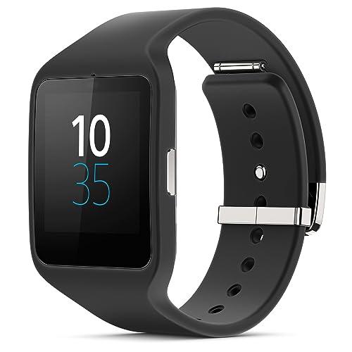 "Sony Smartwatch 3 Classic - Smartwatch Android de 1.6"" (4 GB, Quad-Core 1.2 GHz, 512 MB RAM), color negro"