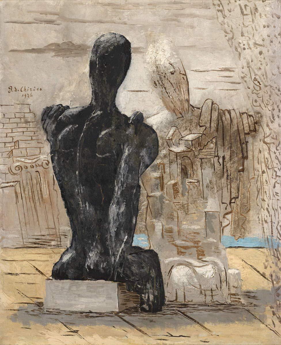 Archeologia Berkin Arts Giorgio De Chirico gicl/ée Stampa su Tela-Dipinti Dipinti Belle Arti Manifesto-Riproduzione Decorazione murale #XFB