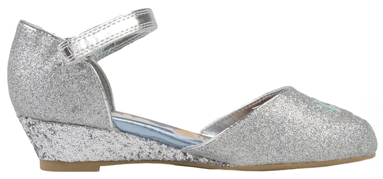 Kids Girls Disney Frozen Dress Up Shoes Glitter Princess Low Heels Party  Size UK 7-1: Amazon.co.uk: Shoes & Bags